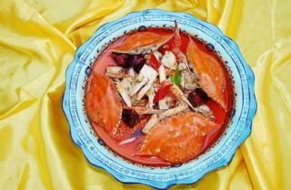 香辣梭子蟹圖片