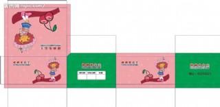 櫻桃公主童鞋插底包裝盒圖片