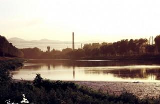 咖啡色湖畔圖片